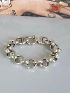 Phantastisches breites Armband Silber 925, hochwertig und geschmeidig