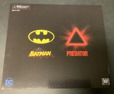 SDCC 2019 NECA EXCLUSIVE BATMAN VS PREDATOR FIGURE SET RARE MINT IN BOX NEW