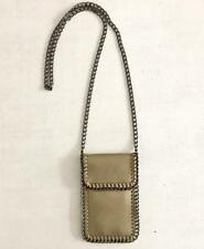 Crossbody Bag Phone Pouch Chain Shaggy Deer Falabella LUX Flap Top Purse GOLD