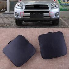 2X Cubierta de gancho de remolque para Toyota RAV4 2009-2012 Tow Hook Eye Cover