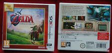 Nintendo 3 DS jeu THE LEGEND OF ZELDA OCARINA OF TIME 3D, neuf sous blister