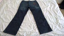 Jeans WRANGLER ALASKA NEUF taille W34 L32 broken twill denim bleu