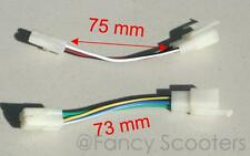 GY6 Enigne 6 Pin CDI Round Plugs vs Square Plugs Converter, PART08200