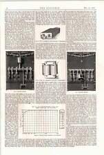 1898 Interruptor de Transformers en la práctica 2 Whalton Cepillo Westinghouse