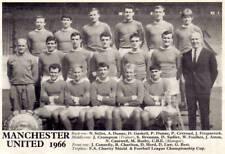 MAN UTD FOOTBALL TEAM PHOTO>1965-66 SEASON