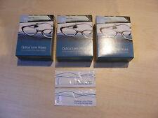 3 Cajas Gafas espectáculo de limpieza de lente Toallitas con alcohol envuelto individualmente 30pc