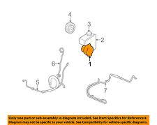 GM OEM-Power Steering Pump 88963473