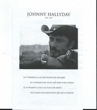 """""""Cérémonie hommage à Johnny Hallyday"""" (1943-2017) Paris"""
