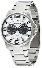 Police 14100JS-01M Visionary Multi Dial Stainless Steel 2 Year Guar RRP £175.