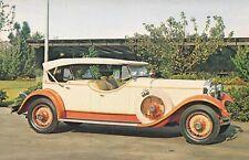Carte postale postcard 9x14cm AUTOMOBILE VOITURE CAR STUTZ MODEL M 1929