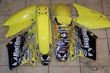 suzuki RMZ250 RMZ 250 Plastic fenders number plates Graphics kit 04 05 06