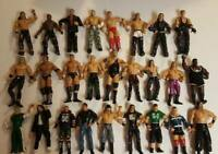 Large Lot of 26 WWE Wrestling Figures 1999-2005 Vintage Jakks Pacific Wrestlers