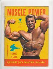 Muscle Power Bodybuilding fitness magazine/Larry Scott 5-71 Spanish Language