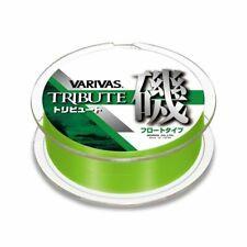 MORRIS Nylon Line VARIVAS TRIBUTE ISO Float 150m #4 Flash Green Fishing line