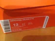 Nike Cleats Spikes US Size 13 Mercurial Veloce II FG New In Box Retail $130