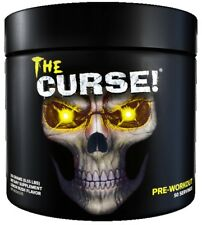Cobra Labs The Curse Pre Workout 250g 50 Servings Strong Supplement Energy Drink