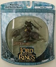 LOTR AOME Warriors Battle Beasts WARG RIDER Lord of the Rings MIB NRFB