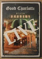 Good Charlotte Live at Brixton Academy (2004 Epic DVD) BRAND NEW SEALED/Drilled