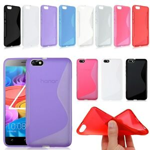 S-line Wave Silicone Gel Back Case Cover For Various Huawei phone