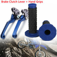 Folding Brake Clutch Levers Hand Grips Fits For Yamaha YZ125 YZ250 YZ426F 450F