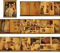 Film und Frau Zeitschrift von 1963-1.Zeitgeist,Mode Werbung.Hildegart Knef