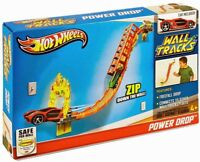 Hot Wheels Wall Tracks Power Drop Track Set