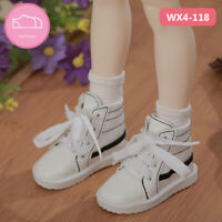 New White canvas shoes For 1/4 BJD Doll