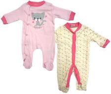 Ropa multicolores de 100% algodón de recién nacido para niñas de 0 a 24 meses
