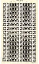 Timbres feuille Cérès 170 ans du premier timbre-poste français salon du Timbres