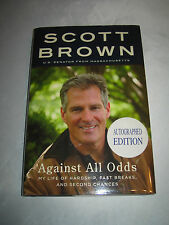 Against All Odds My Life by MA Senator Scott Brown SIGNED 1st/1st 2012 HCDJ