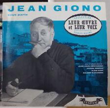 JEANNE MOREAU/TRINTIGNANT JEAN GIONO VOUS PARLE RARE 25 cm FRENCH LP FESTIVAL