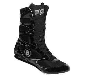 Ringside Undefeated Wrestling Boxing Shoes, 7, Black