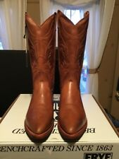 Frye Men's Boots Bruce Pull On Style 87692 Tan 10 M New In Box