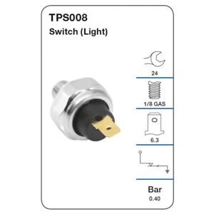 Tridon Oil Pressure Switch TPS008 fits Suzuki Swift 1.4 (FZ,NZ), 1.5 (RS415),...