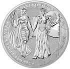 2019 5 Oz Silver 25 Mark The Allegories GERMANIA N COLUMBIA Coin.