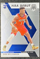 Zion Williamson 2019-20 Panini Mosaic Rookie NBA DEBUT RC New Orleans Pelicans