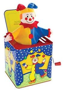 Clown-Jack-In-The-Box-Musical-Children-Toy-Clown-Schylling - SALE!