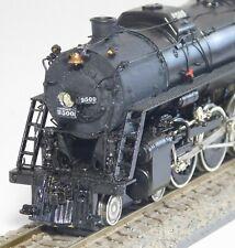 Hallmark Models Illinois Central 4-8-2 Steam Loco- HO Scale