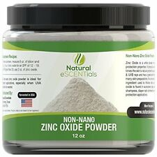 Non Nano Zinc Oxide Powder - Can Be Used To Make Sunscreen Or Baby Powder, 12 oz