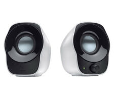 Logitech Compact Stereo Speakers Z120 USB Powered - White