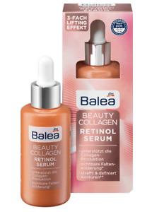 Balea Beauty Collagen Retinol Face Serum Anti-Wrinkles Hydrating the Skin 30 ml
