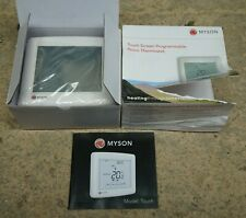 Myson Touch Screen Programmable Room Thermostat 50516