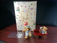 1999 Enesco Cherished Teddies Letty Membears Only Figurine CT993