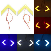 2x 18 SMD LED Sequential Arrow Panel Side Rear View Mirror Turn Signal Light !