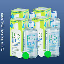 Biotrue - Bausch&Lomb - Kontaktlinsen Pflegemittel - 4 x 300 ml
