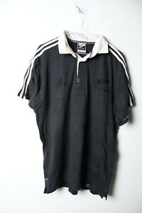 Adidas All Blacks Mens Polo Shirt - Size M Medium (26a) GRADE B