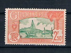 Guadeloupe 1940 Harbour 2f50 green & red-orange */MvLH SG 142 Yv 157