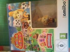 Animal Crossing Amiibo Festival w/ Isabelle amiibo + 3 Cards Wii U NOT FOR WII