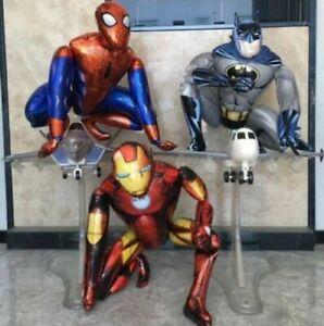 BATMAN SPIDERMAN HULK BALLOON PARTY BIRTHDAY MARVEL SUPERHERO