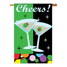 New listing Cheers - Applique Decorative House Flag - H115052-P2